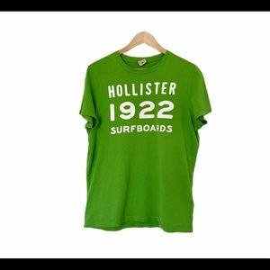 Hollister Green T-shirt Size XL